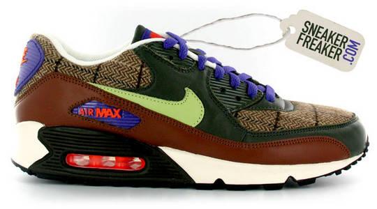 best sneakers 0587b 5c599 tartan air max 90